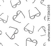 sunglass seamless pattern...