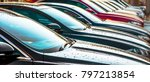 luxury cars for sale stock lot... | Shutterstock . vector #797213854