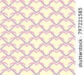 seamless vector pattern of... | Shutterstock .eps vector #797221585
