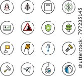 line vector icon set  ...