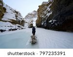 Chadar Trek Or Frozen River...