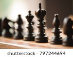 party in chess | Shutterstock . vector #797244694