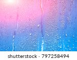 natural background with... | Shutterstock . vector #797258494