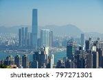 hong kong  land of skyscraper | Shutterstock . vector #797271301