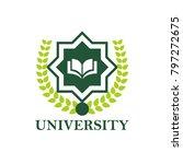 university logo design | Shutterstock .eps vector #797272675