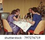 Dutch 1950 S Family Enjoying...