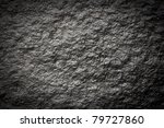 Black Wall Stone Background ...