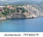 assos city kefalonia | Shutterstock . vector #797300179