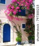 assos city kefalonia | Shutterstock . vector #797300215