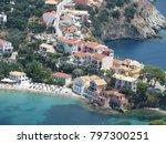 assos city kefalonia | Shutterstock . vector #797300251