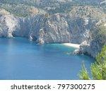 assos city kefalonia | Shutterstock . vector #797300275