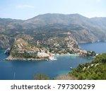 assos city kefalonia | Shutterstock . vector #797300299