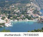 assos city kefalonia | Shutterstock . vector #797300305