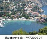 assos city kefalonia | Shutterstock . vector #797300329
