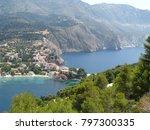 assos city kefalonia | Shutterstock . vector #797300335