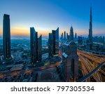 downtown dubai cityscape | Shutterstock . vector #797305534