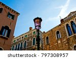 wonderful city of murano ... | Shutterstock . vector #797308957
