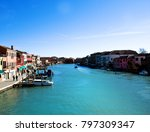 wonderful city of murano ... | Shutterstock . vector #797309347