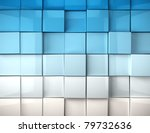 Abstract Image Of Cubes...