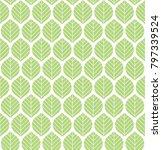 vector illustration of leaves...   Shutterstock .eps vector #797339524