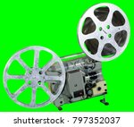 a movie projector is an opto... | Shutterstock . vector #797352037