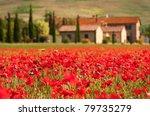 tuscan scene | Shutterstock . vector #79735279