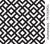 black and white geometric...   Shutterstock .eps vector #797353921