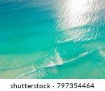 Top View Of Beautiful Caribbea...