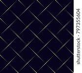 simple geometric design. dot... | Shutterstock .eps vector #797355604