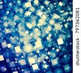 holiday joyful texture. deep... | Shutterstock . vector #797362081
