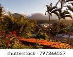 volcanos of cerro verde... | Shutterstock . vector #797366527