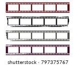 film strips set. abstract...   Shutterstock .eps vector #797375767