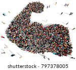 Large And Diverse Group Of...