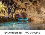 beautiful colors underground in ... | Shutterstock . vector #797399341