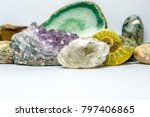Collection Of Rocks  Minerals...