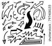 illustration of grunge sketch... | Shutterstock .eps vector #797408155