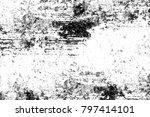 grunge black and white pattern. ... | Shutterstock . vector #797414101