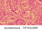 seamless marble pattern texture ... | Shutterstock .eps vector #797422309