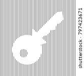key sign illustration. vector.... | Shutterstock .eps vector #797423671