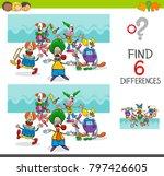 cartoon illustration of finding ... | Shutterstock .eps vector #797426605