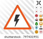 electricity shock warning...
