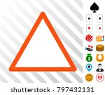 empty warning trinagle icon...