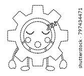 gear sleep  kawaii icon image