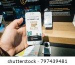 paris  france   nov 23  20017 ... | Shutterstock . vector #797439481