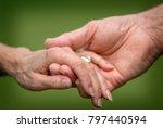 closeup of a married senior...   Shutterstock . vector #797440594