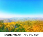 landscape image of mae hong son ... | Shutterstock . vector #797442559