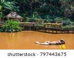 landscape of mae fah luang... | Shutterstock . vector #797443675