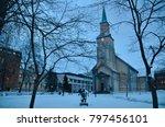 northern europe norway tromso | Shutterstock . vector #797456101