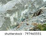 spectacular panorama of mer de... | Shutterstock . vector #797465551