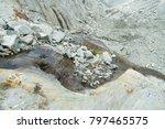 spectacular panorama of mer de... | Shutterstock . vector #797465575